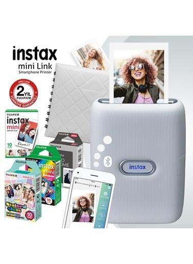 Fujifilm Instax Mini Link Beyaz Akıllı Telefon Yazıcısı Ve Hediye Seti 1 Beyaz